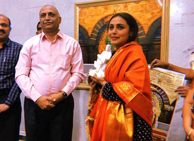 After Mardaani 2 release, Rani Mukerji seeks blessing at Shirdi temple