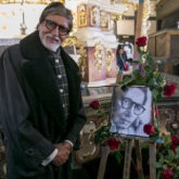 Amitabh Bachchan prays for his late father at a church in Poland, see photos