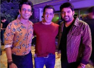 Kapil Sharma shares frame with Sunil Grover and Salman Khan at Sohail Khan's birthday bash