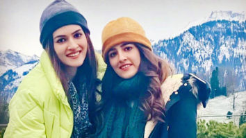 Kriti Sanon pens the sweetest birthday wish for sister Nupur Sanon