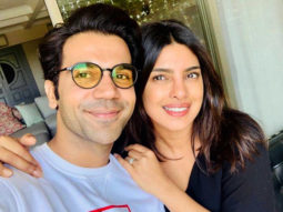 """Keep sending me memes""- Priyanka Chopra tells Rajkummar Rao as they wrap The White Tiger"
