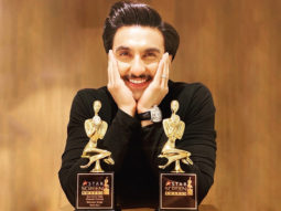 Ranveer Singh can't keep calm after winning 'Double Whammy' at the Star Screen Awards