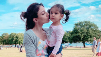 """Wish you were here""- Soha Ali Khan visits father Mansoor Ali Khan Pataudi's grave with daughter Inaaya"