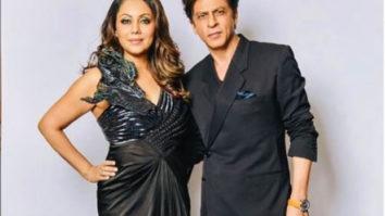 Watch: Shah Rukh Khan holding Gauri Khan's trail goes viral