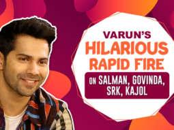 """Varun-Shraddha - The better chemistry than SRK-Kajol Varun RESPONDS to fan comment Rapid Fire"