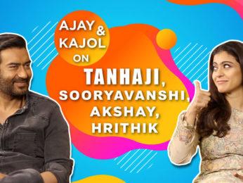 Ajay Devgn & Kajol on Tanhaji & Superb 3D Funny Rapid Fire Hilarious Quiz Twitter Fan Questions