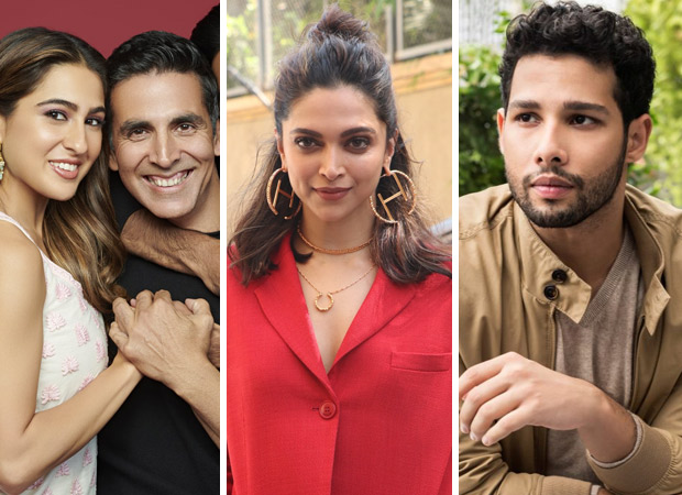 Akshay Kumar - Sara Ali Khan - Dhanush to CLASH with Deepika Padukone -Siddhant Chaturvedi - Ananya Panday on Valentine's Day 2021!
