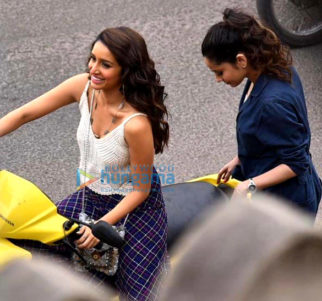 on the sets of the movie Baaghi 3