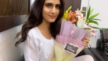 Birthday girl Fatima Sana Shaikh gets a sweet surprise on sets of Suraj Pe Mangal Bhari