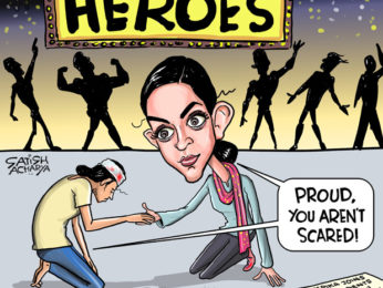 Bollywood Toons Deepika Padukone stands with JNU students