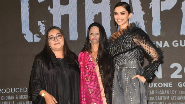Deepika Padukone, Vikrant Massey, Meghna Gulzar and others grace the song launch of 'Chhapaak' from their film 'Chhapaak' Part 1