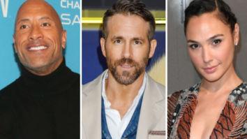 Dwayne Johnson, Ryan Reynolds and Gal Gadot's Netflix film Red Notice starts rolling