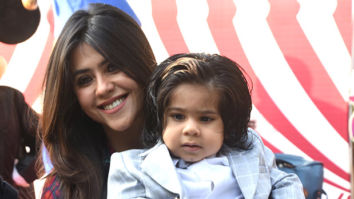Ekta Kapoor finally shows us son Ravie's face on his first birthday