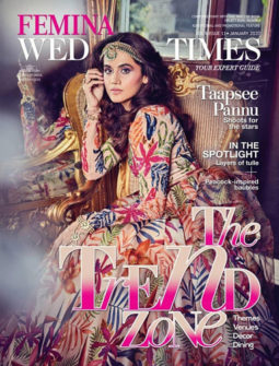 Taapsee Pannu on the cover of Femina, Jan 2020