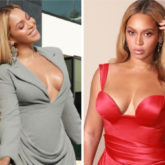 From bodycon dress to scarlet red gown, Beyonce looks gorgeous at pre-Grammys parties