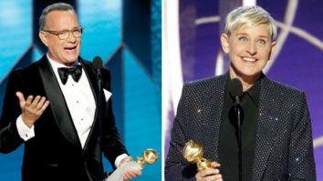 Golden Globes 2020 Tom Hanks gets emotional while accepting Cecil B. DeMille Award, Ellen DeGeneres receives Carol Burnett Award