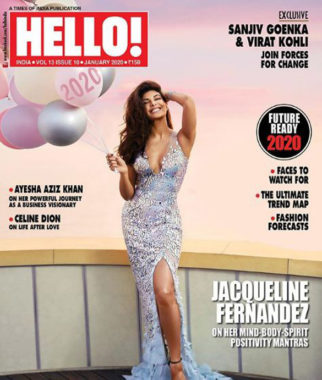 Jacqueline Fernandez On The Cover Of Hello!