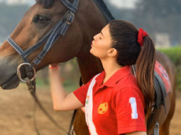 Jacqueline Fernandez spends her day horse riding and we're wondering if there's anything she cannot do!