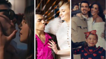 Jonas Brothers recreate Risky Business, Grease, Say Anything in What A Man Gotta Do music video featuring Priyanka Chopra, Sophie Turner, Danielle Jonas