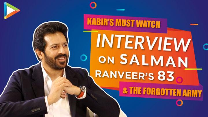 Kabir Khan on The Forgotten Army & 83 The Film Salman Khan Ranveer Singh Sunny Sharvari