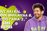 Kartik Aaryan EXCLUSIVE on Love Aaj Kal, Sara Ali Khan, Bhool Bhulaiyaa 2, Dostana 2, Deepika