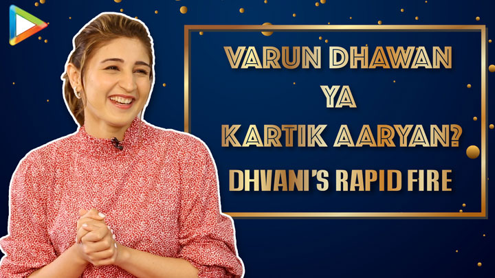 "Kartik Aaryan, Sara Ali Khan & Varun- I'd like them on…"" Dhvani Rapid Fire Na Ja Tu"