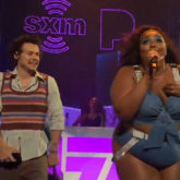 Lizzo and Harry Styles make a dynamic duo while performing 'Juice' in Miami