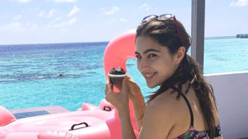 MID-WEEK MOOD Sara Ali Khan chilling by the pool in a bikini, eating muffins and cupcakes for breakfast in Maldives