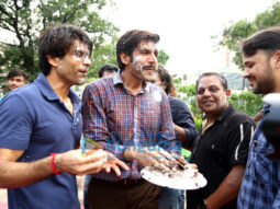 On The Sets From The Movie Pati Patni Aur Woh