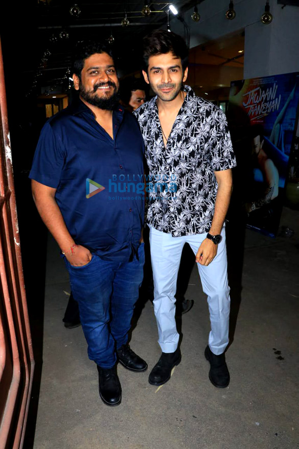Photos Celebs attend the special screening of the film Jawaani Jaaneman at Juhu PVR-24