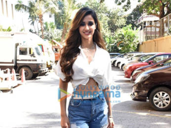 Photos: Disha Patani and Aditya Roy Kapur snapped promoting their film Malang