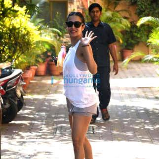 Photos: Malaika Arora spotted at Diva Yoga Studio in Bandra