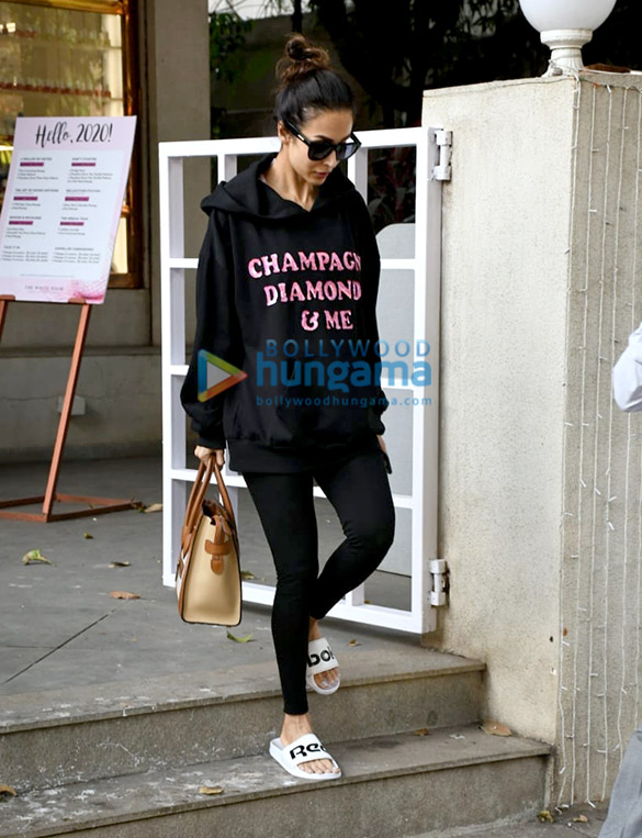 Photos: Malaika Arora spotted at salon