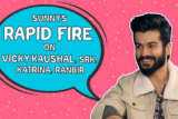 ROFL- Sunny Kaushal ADMITS he had CRUSH on Vicky Kaushal's Gilrfriend Rapid Fire