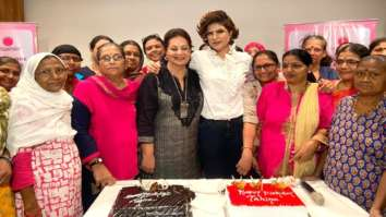 Tahira Kashyap celebrates birthday with breast cancer survivors at Tata Memorial Hospital