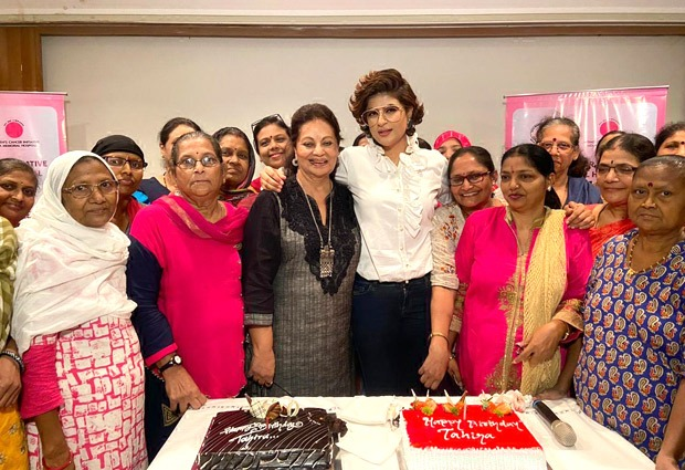 Tahira Kashyap celebrates birthday with breast cancer survivors at Tata Memorial Hospital