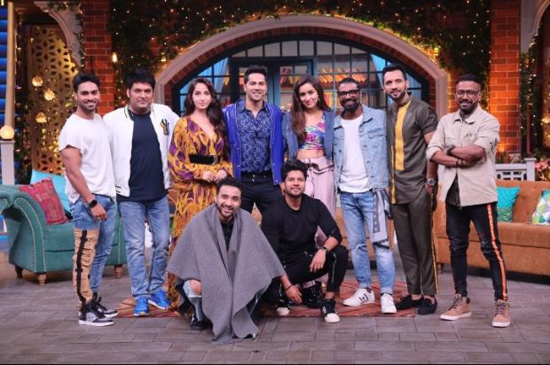 The Kapil Sharma Show: Varun Dhawan transforms into Prabhu Dheva, Shraddha Kapoor arrives with suitcase on set