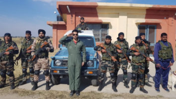 Varun Dhawan spends time with Indian Air Force, calls it magical