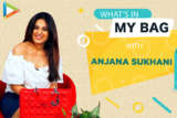 What's in my bag with Anjana Sukhani Fashion Lifestyle Bollywood Hungama