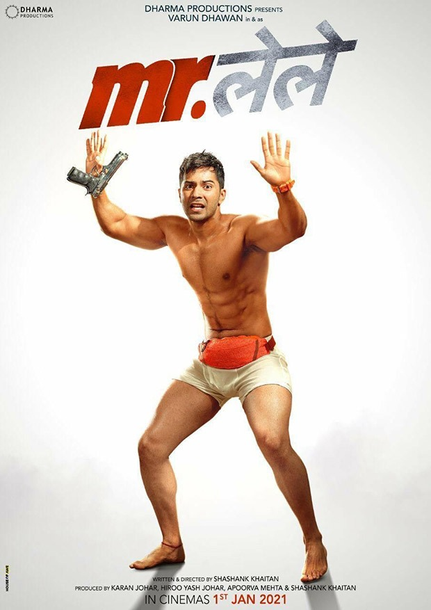 Mr. Lele: Varun Dhawan wears nothing but an underwear in first look of Shashank Khaitaan - Karan Johar's comedy