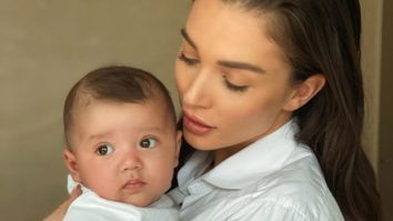 Amy Jackson writes a heartfelt note as son Andreas completes four months