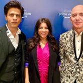 Watch: When Shah Rukh Khan made Amazon CEO Jeff Bezos mouth a Don dialogue!