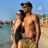 Natasa Stankovic stuns in a black bikini in her throwback picture with beau Hardik Pandya