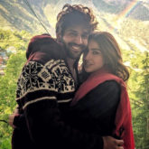 Sara Ali Khan turns goofy with her poetry as she sets off for a bike ride with Kartik Aaryan