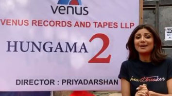 Watch: Shilpa Shetty expresses her excitement on first day of Hungama 2
