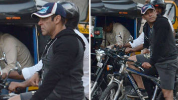 Amid packed schedule, Salman Khan goes cycling on the streets of Mumbai