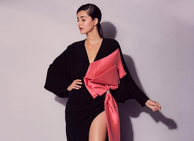 Ananya Panday wearing Ghalia Lahav's Bowie gown is the perfect combination of classy and sexy
