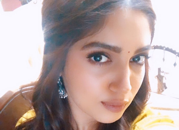 Bhumi Pednekar gives a glimpse of her look from Durgavati!