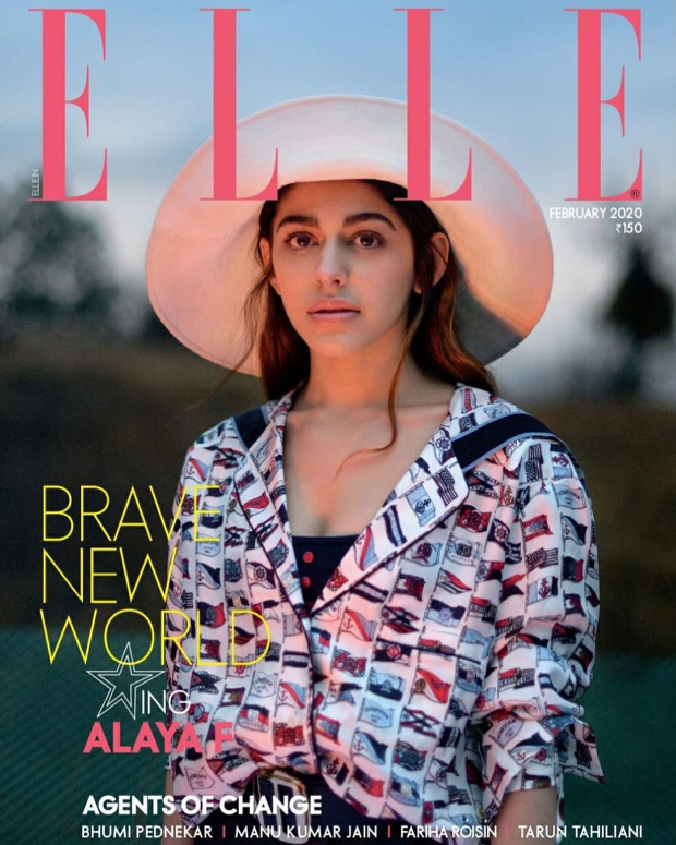 Bringing countryside vibes, Alaya F shines bright in the cover shoot for Elle magazine, check out BTS video