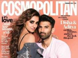 Disha Patani And Aditya Roy Kapur On The Cover Of Cosmopolitan